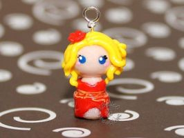 Chibi Yoville Avatar - Red Dress by KBelleC