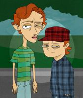 Pete and Pete Wrigley by RumDuncan