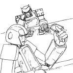 Ratchet + Ironhide by Cubicality