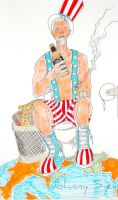 uncle sam by johnny5iel