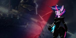 Pacific Rim MLP:  jaeger pilot Twilight Sparkle by Odiz