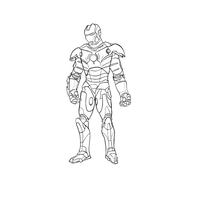 Ironman no colour by Ayyg