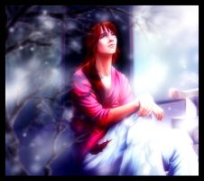 Watching Snow Fall by Paranoid-Duckkie