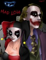 Black Mad Love by Maggotx9