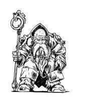 Old Dwarf Of the Council 01 by Tregis