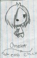 Omelet the EMO chick by AllennellA