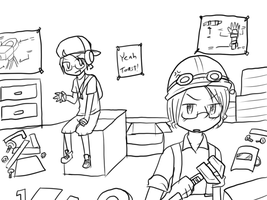 Woes of being Engie.. by BluesKirby