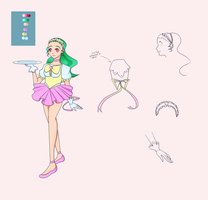 Ref Sheet--Sailor Waitress by Lady-Moth