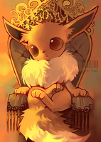 Eevee Throne by Yen-Cat