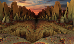 Tombstone Gorge by moonhigh