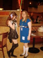 Kitty and Tardis by Lily-Hith-Silme