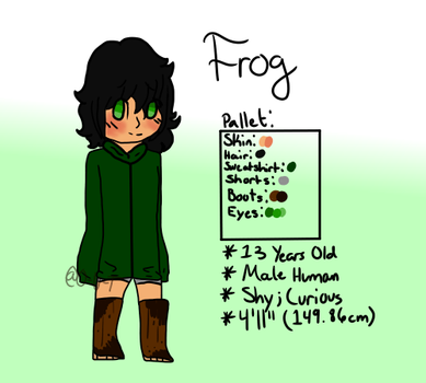 New! Frog Reference by O-U-T