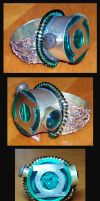 Steampunk Lantern Ring by Natfoe