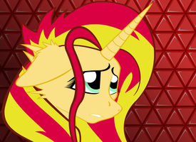 Sunset Shimmer Alt by Fakkom