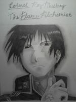 Roy Mustang - The Flame Alchemist by TheJadedAlchemist