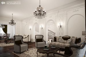 Villa B - Ground floor Living by kasrawy