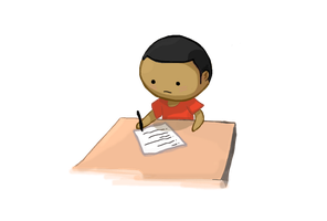 sWooZie taking test by DA-sWooZie