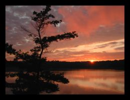 onondaga sunset 2002 by endure