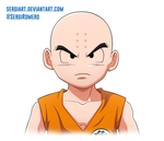 Day 26 - Krillin by SergiART