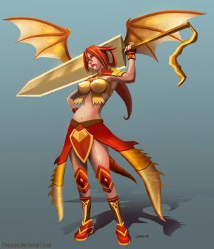 Female Commission by Chenzan