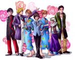 Ouran Hosts by TaintedSilence by Ouran-Host-Club