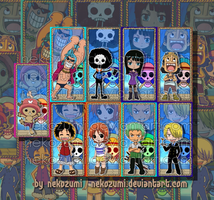 ONE PIECE - BOOKMARK SET by Nekozumi
