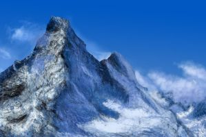 Mountain Study (Digital Painting) by Silferath