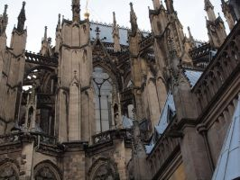 Cologne Cathedral - Detail 13 by tmfNeurodancer