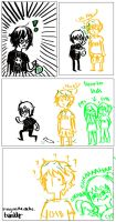 Grass-a Solangelo comic by C-Cumbercookie