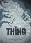 The Thing movie poster by Zenithuk