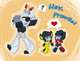 TF: Hey Prowlie by NamiAngel