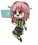 Chibi Koharu by TeenageLover101