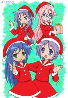 Lucky Star Christmas by J8d
