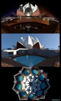 Concept Lotus Temple 3d. by GDSWorld