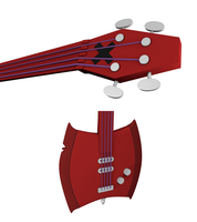 Marceline's Axe Bass 3D by Exherion