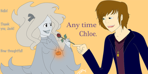 A Rose for a Ghost by ChloeCorp