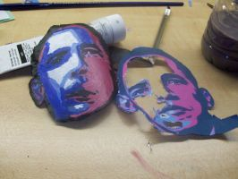 Obama Aluminum Face by ams719