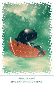 Wally The Whale by eHSiiCa