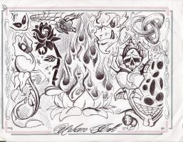 Urban Ink. Flash sheet by PrOdIgY-420