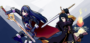 Lucina + Morgan by Pidoodle