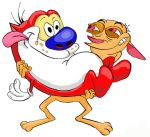 Ren and Stimpy colored by Lolzards