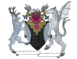 Arms of Dame Kathy by ayellowbirds