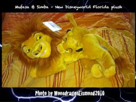 Mufasa und Simba 2014 -  New TLK plush by MoondragonEismond