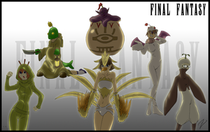 Final Fantasy Monster Medley by ZaXo-KenIchi