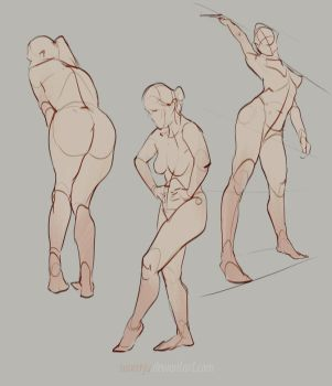 Figure drawing_01 by SunnyJu