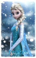 Disney's Frozen: Elsa The Snow Queen by Irishhips