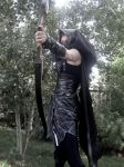 One Arrow at a Time--Skyrim Cosplay by audrey-vista