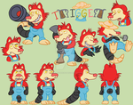 Trigger Model Sheet Official by Blackn-Yellow