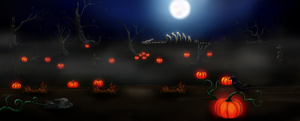 Tale of Dragons Halloween Background by kristhasirah