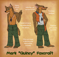 Mark 'Quincy' Foxcroft Ref Update by AmiliaLongTail